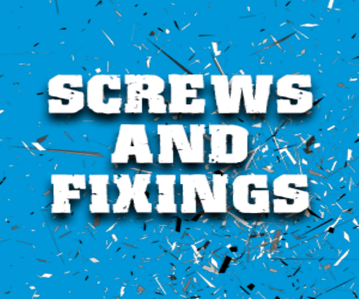 Screws, Nails, Fixings