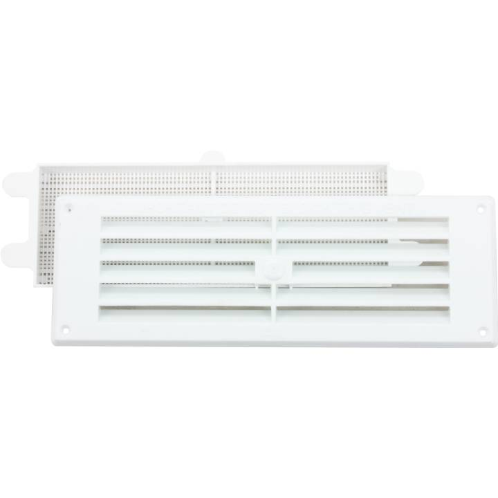 GAS LOUVRE VENT - WHITE