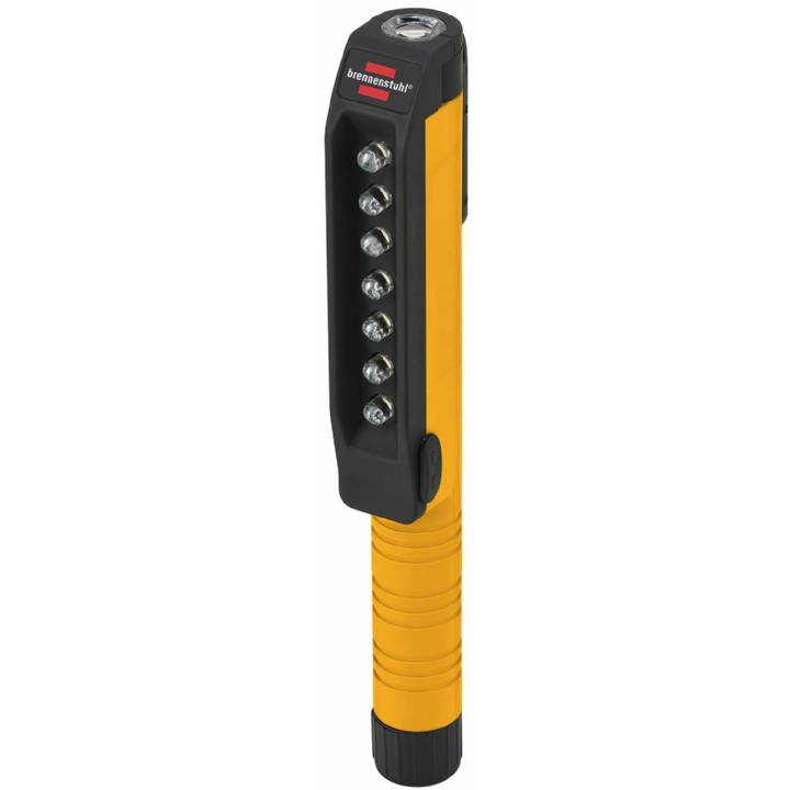 BRENNENSTUHL 7+1 LED INSPECTION LIGHT WITH CLIP AND MAGNET