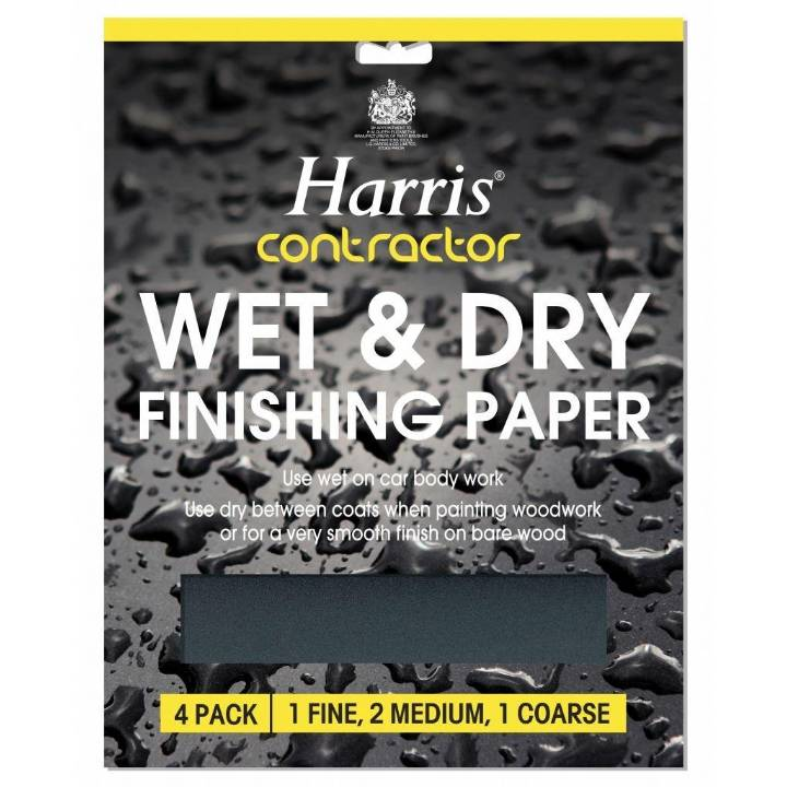 HARRIS CONTRACTOR WET & DRY FINISHING PAPER