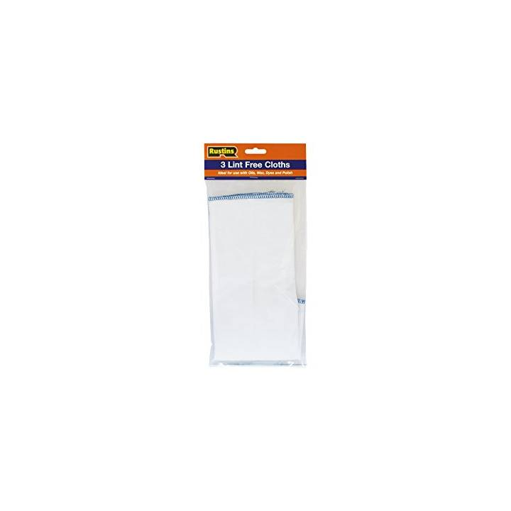 RUSTINS LINT FREE CLOTH 3 PACK