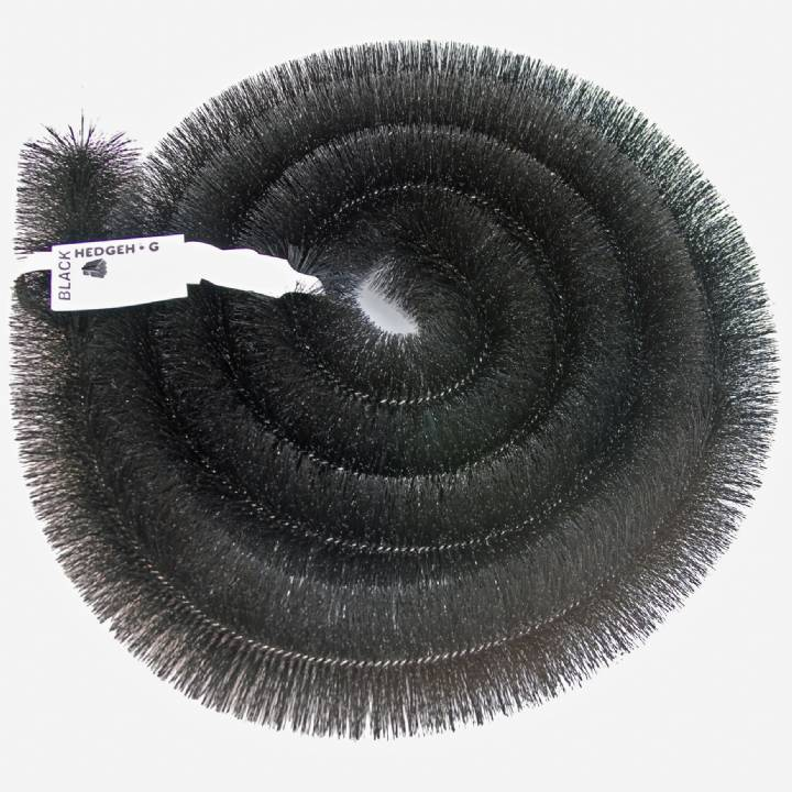 HEDGEHOG GUTTER BRUSH 100MM X 4M BLACK