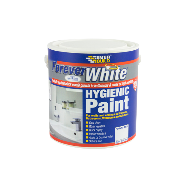 FOREVERWHITE PAINT - 2.5 LITRE - SATIN