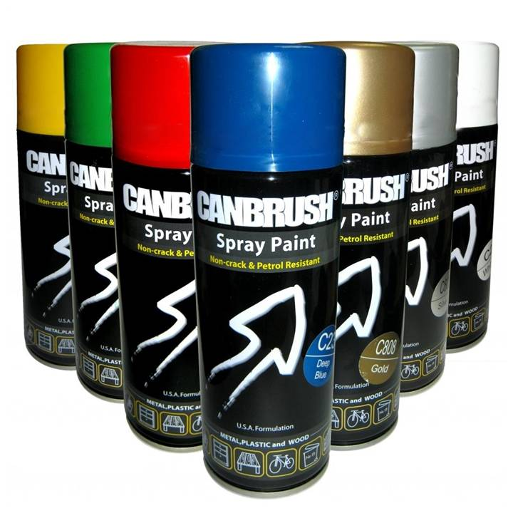 CANBRUSH HIGH TEMPERATURE HEAT RESISTANT  SPRAYPAINT