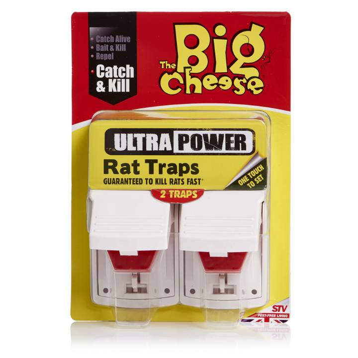 ULTRA POWER RAT TRAPS-TWIN PACK