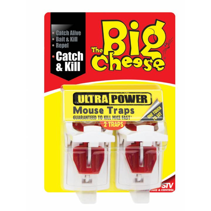 ULTRA POWER MOUSE TRAPS-TWIN PACK