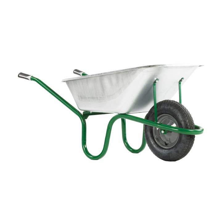 HAEMMERLIN ULTIMATE GALV 120L WHEELBARROW