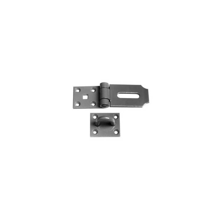 HASP & STAPLE - BRIGHT ZINC PLATED