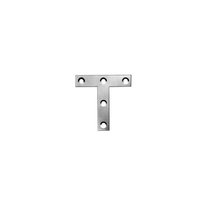 T-PLATE 3 INCH BRIGHT ZINC PLATED