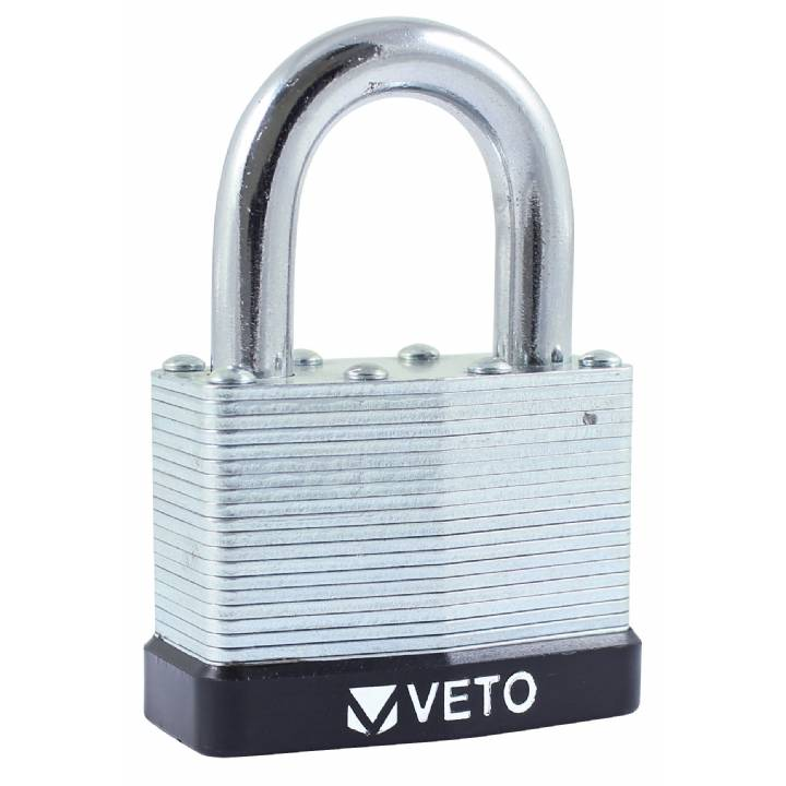 VETO 50mm LAMINATED PADLOCK