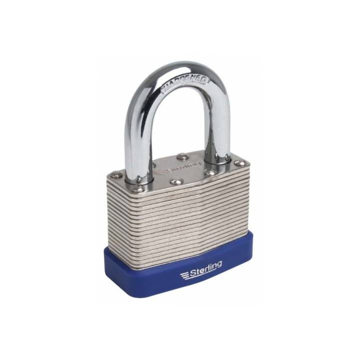 STERLING LAMINATED PADLOCK CLOSED SHACKLE 50MM