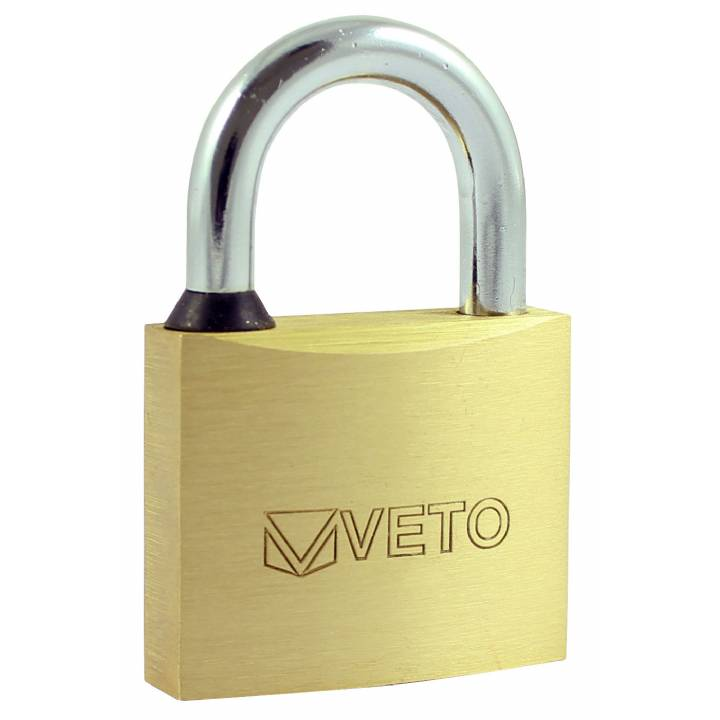 VETO 50mm BRASS PADLOCK