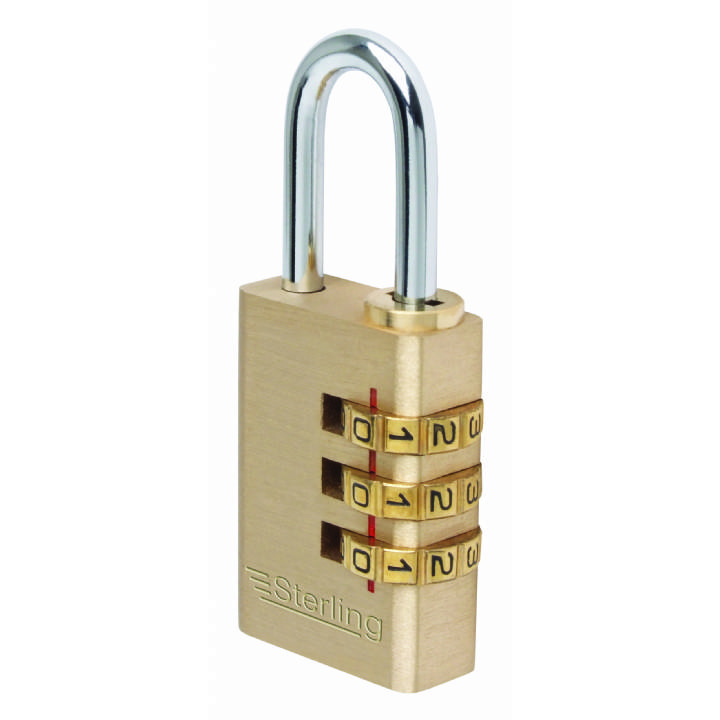 STERLING 26MM COMBINATION PADLOCK