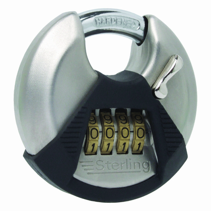 STERLING COMBINATION DISC PADLOCK