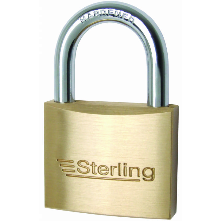 STERLING BRASS PADLOCK 60MM