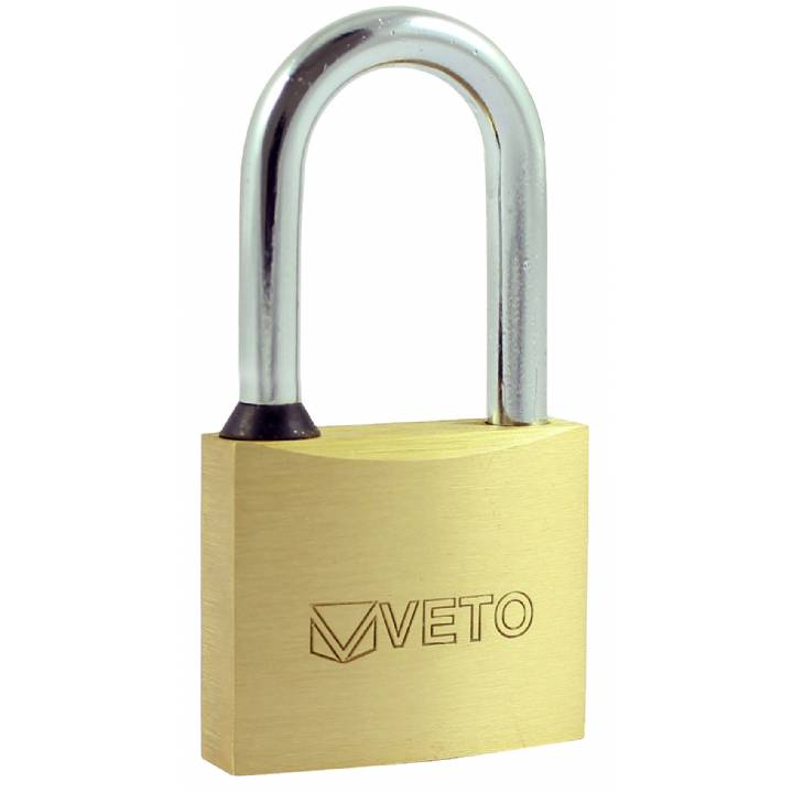 VETO 40mm LONG SHACKLE PADLOCK