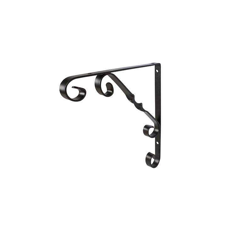 ORNAMENTAL BRACKET 10X10 - BLACK FINISH