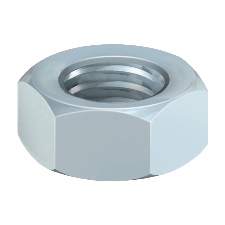 HEX NUT BRIGHT ZINC PLATED M6 BOXED