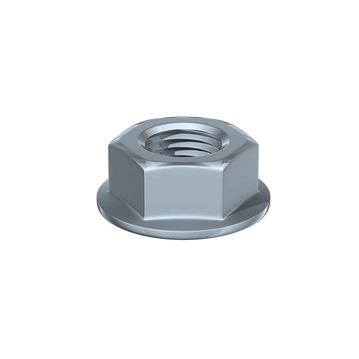 HEX SERRATED FLANGE NUT BOXED