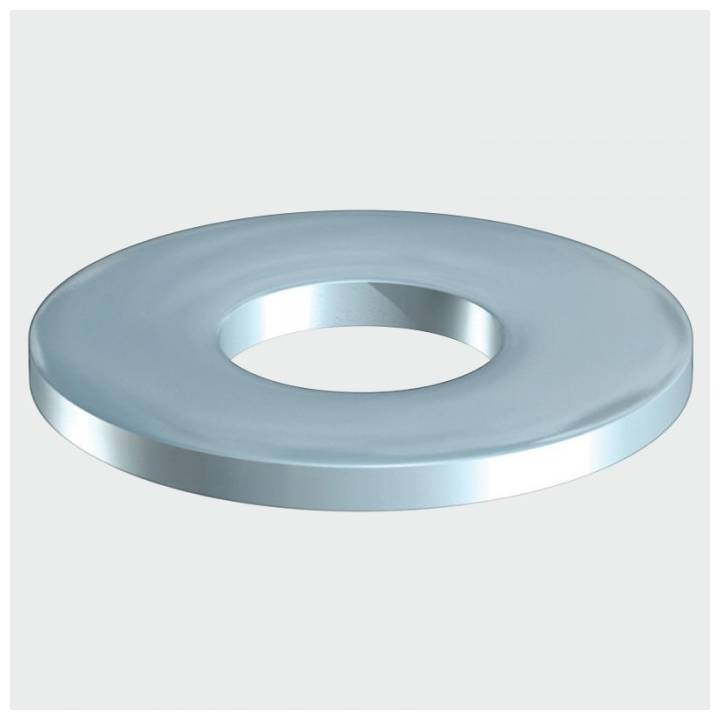 M12 FORM C WASHERS BRIGHT ZINC PLATED BOXED