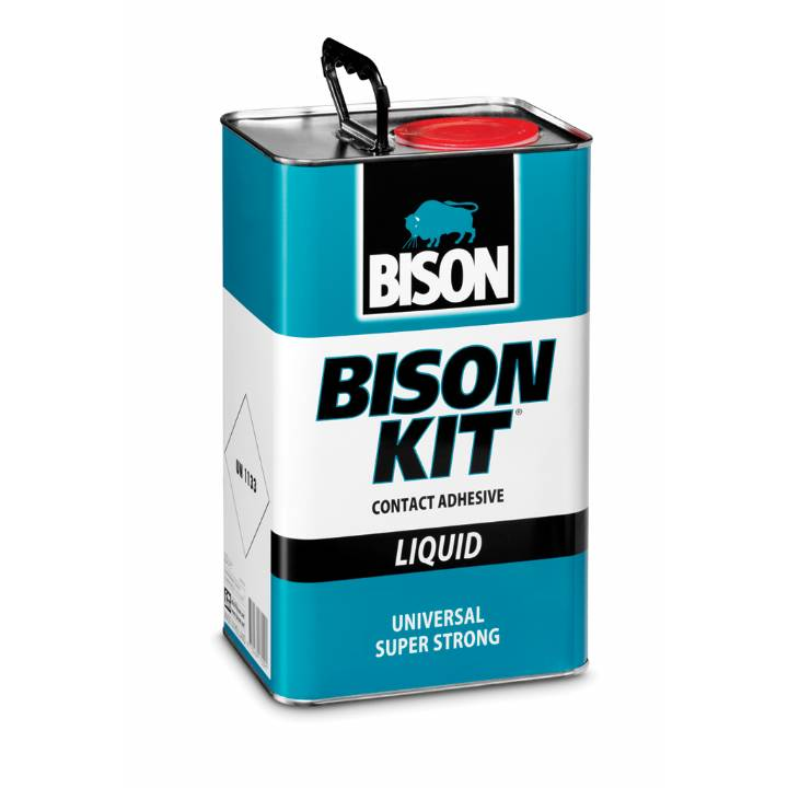 BISON CONTACT ADHESIVE 4.5L