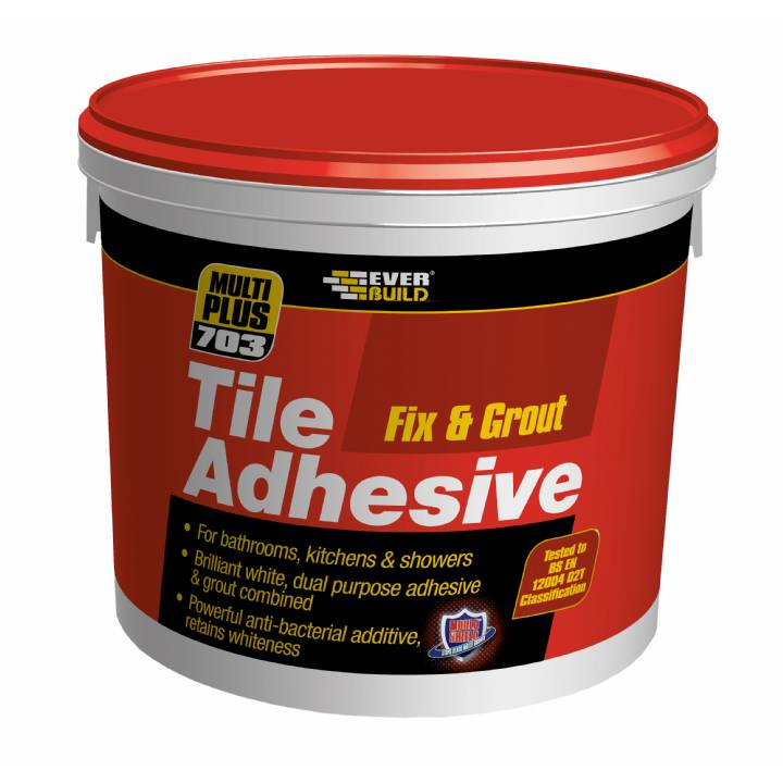FIX & GROUT TILE ADHESIVE 2.5L