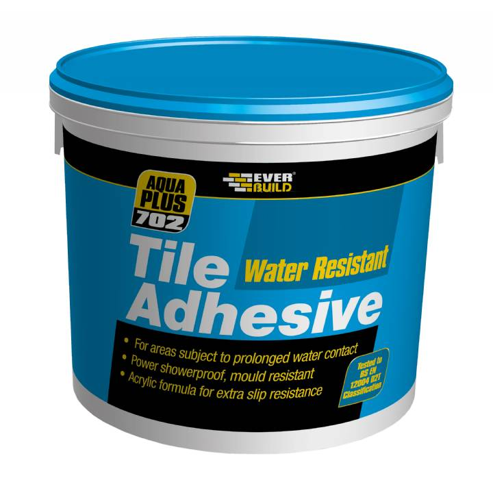 WATER RESISTANT TILE ADHESIVE