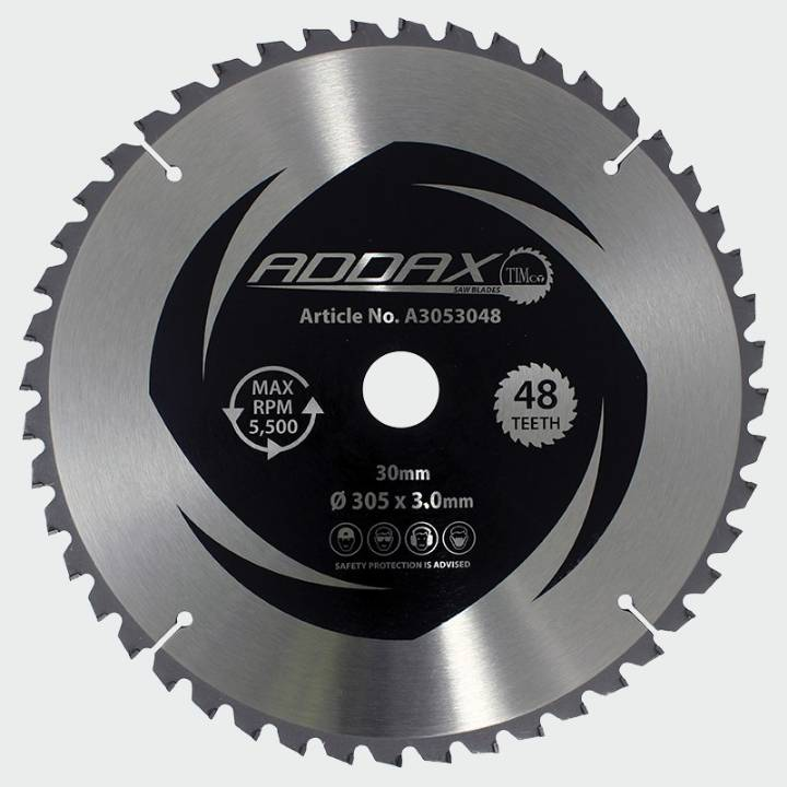 ADDAX 5 DEGREE CIRCULAR SAW BLADE