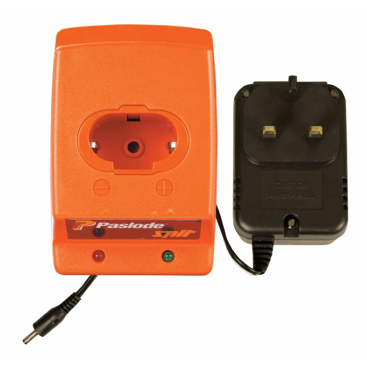 PASLODE BATTERY CHARGER WITH ADAPTOR