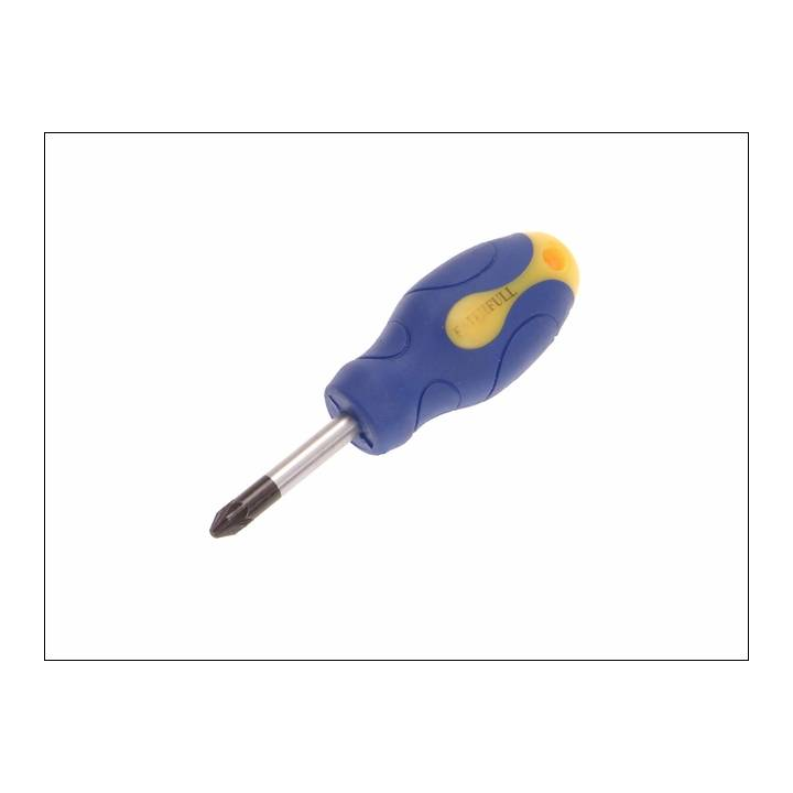 FAITHFULL STUBBY PZ2 SCREWDRIVER