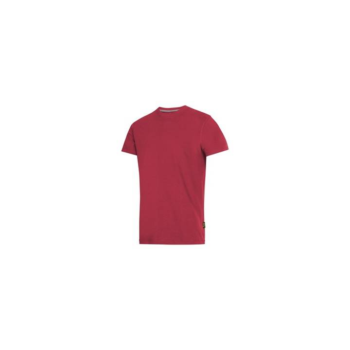 SNICKERS CLASSIC T SHIRT - CHILI RED - MEDIUM