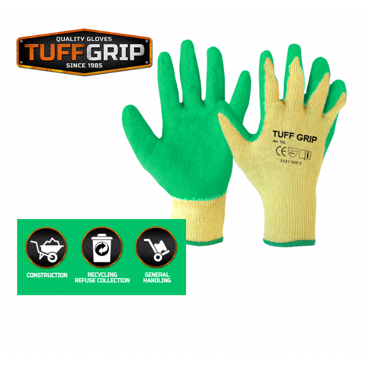 TUFFGRIP LATEX GRIP GLOVES