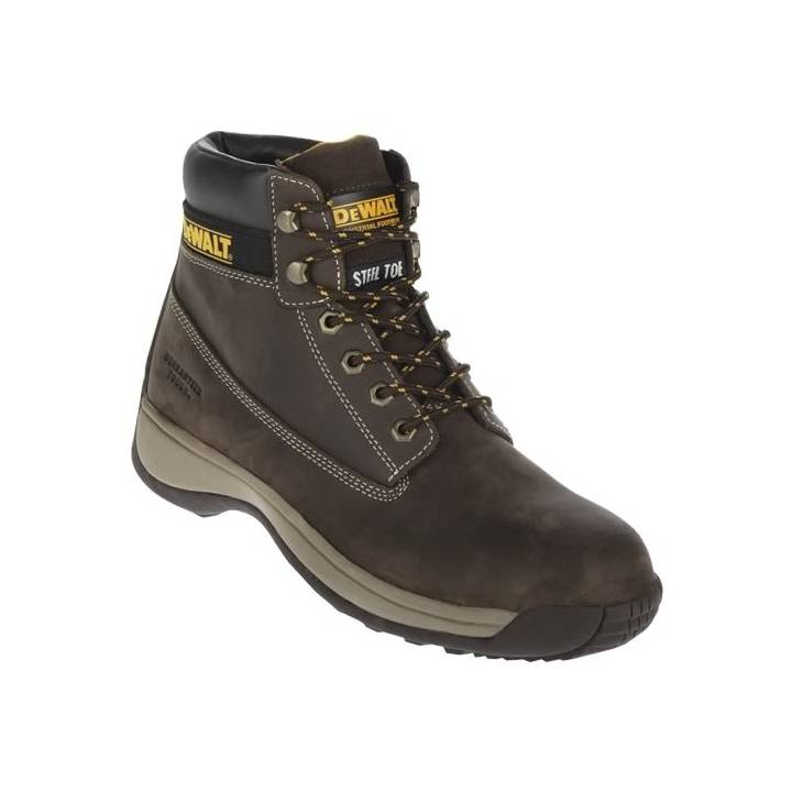 DEWALT APPRENTICE WORK BOOT - BROWN SIZE 10