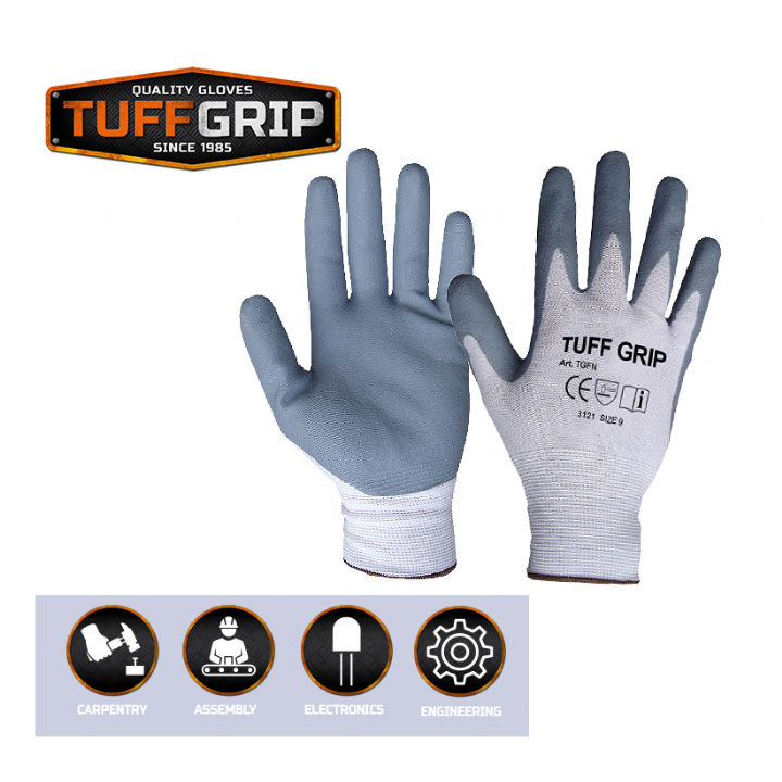 TUFFGRIP FOAM FIT GLOVES