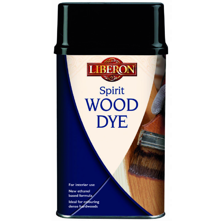 LIBERON SPIRIT WOOD DYE - 250ML -  LIGHT OAK