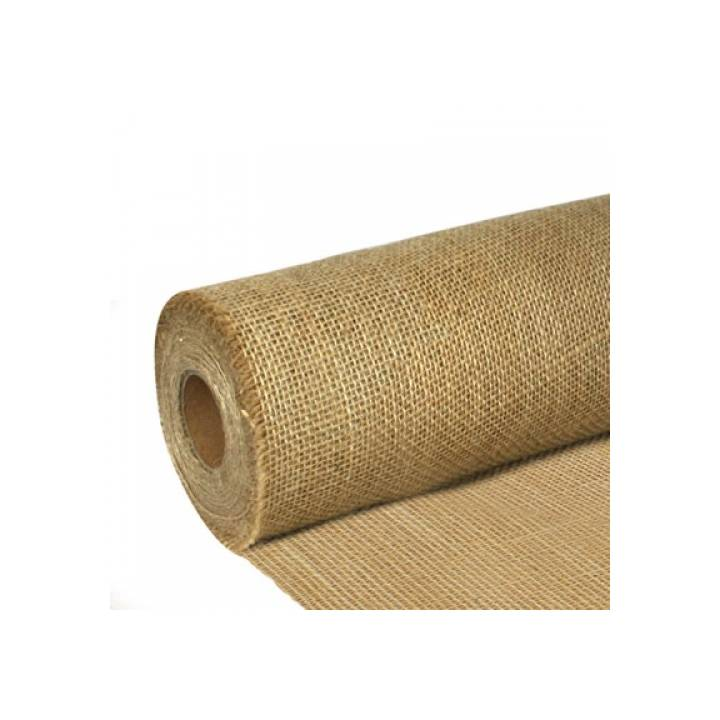 NATURAL HESSIAN FROSTPROOF ROLL 137CM X 46M