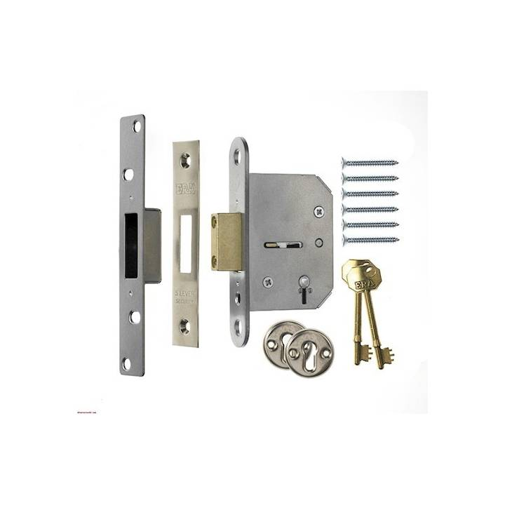 ERA 3 LEVER SASHLOCK 21/2 CHROME