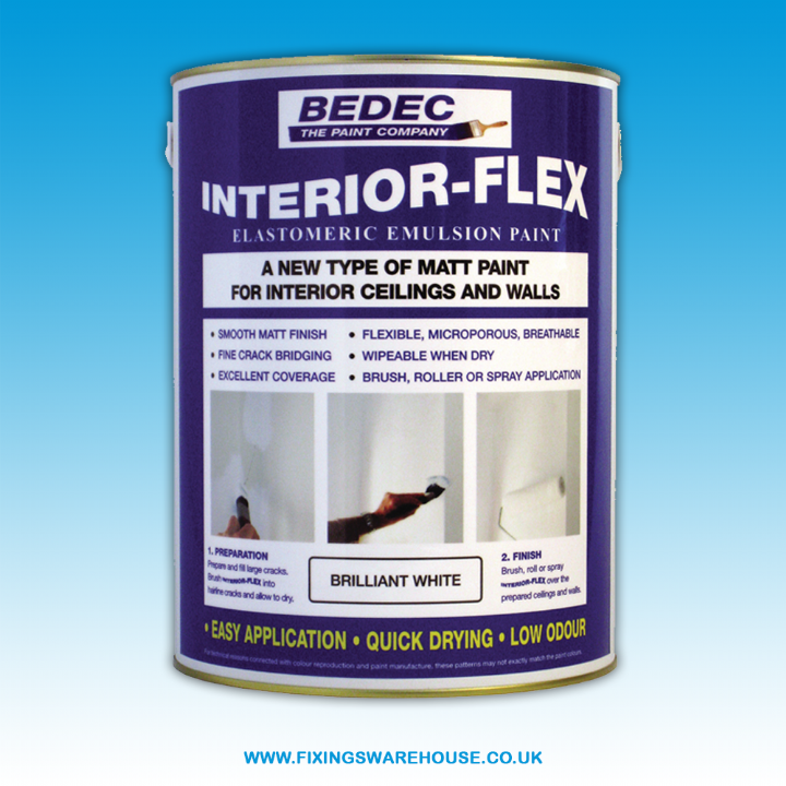 BEDEC INTERIOR FLEX EMULSION-WHITE