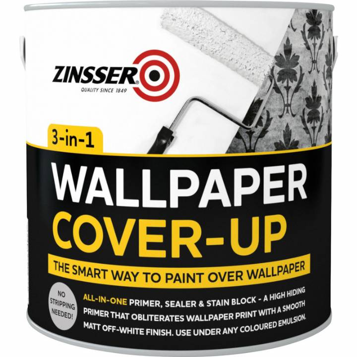 ZINSSER WALLPAPER COVER UP