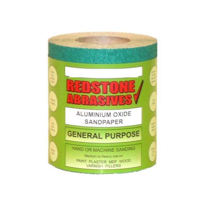 ABRASIVE SANDPAPER - GENERAL PURPOSE - 10 METRE