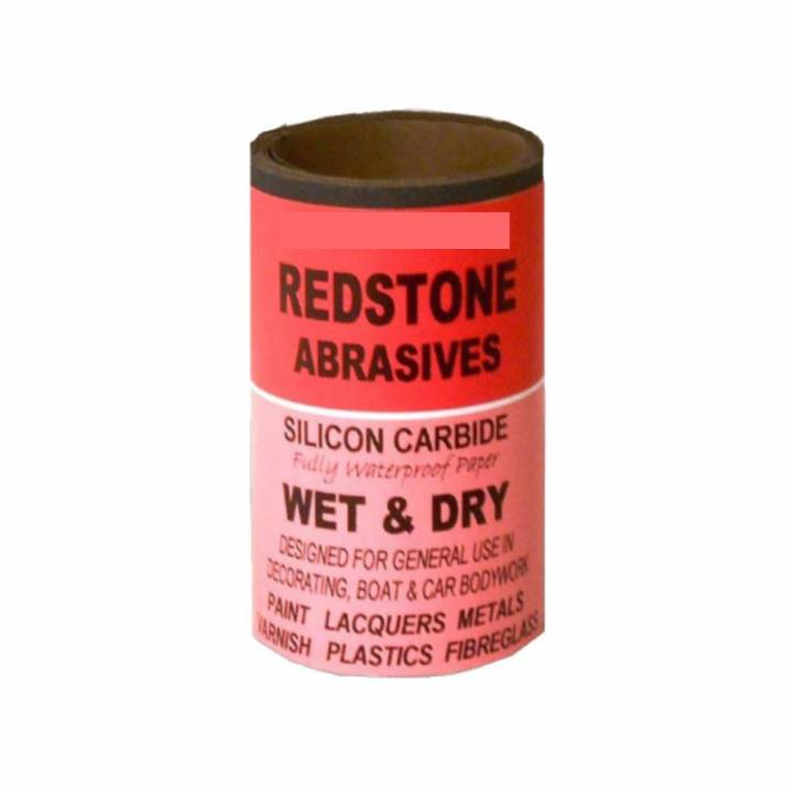WET AND DRY ABRASIVE SANDPAPER - FINE - 1 METRE