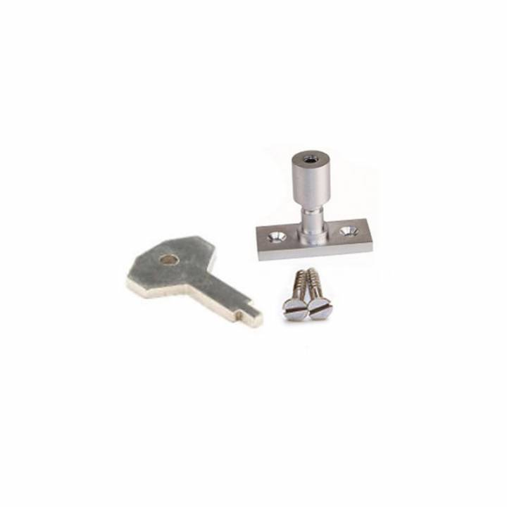 PK.2 SATIN WINDOW STAY LOCKS