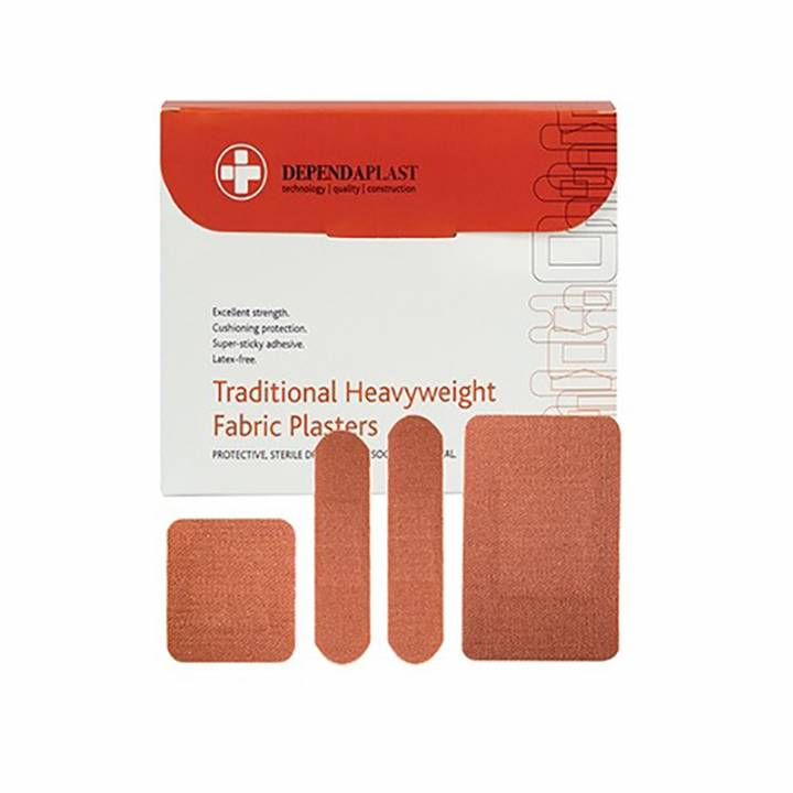 DEPENDAPLAST HEAVYWEIGHT FABRIC PLASTERS