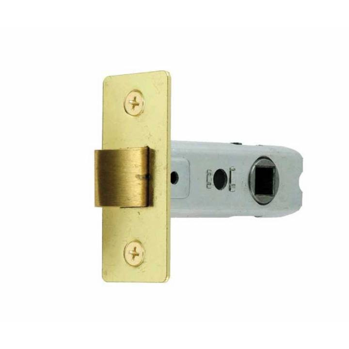 TUBULAR LATCH BRASS 3 INCH