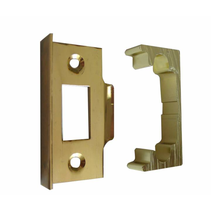 BRASS REBATE SET FOR TUBULAR LATCHES