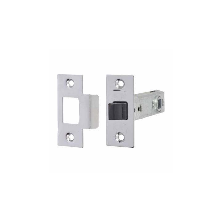 HEAVY DUTY TUBULAR LATCH 76MM SATIN
