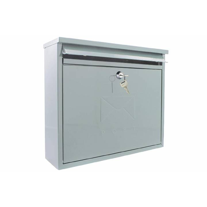 ELEGANCE RECTANGULAR POST BOX AVAILABLE IN 4 COLOURS